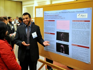 Dr. Sajid Ali, fellow, at the Ohio ACC conference